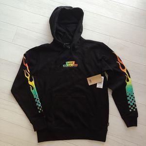 VANS black hoodie NWT